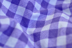 Checked Cloth Royalty Free Stock Photography