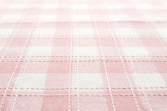 Checked cloth Stock Image