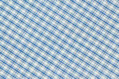 Checked cloth background Royalty Free Stock Image