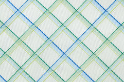 Checked cloth pattern close up Royalty Free Stock Photos