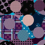 Checked dot pattern Royalty Free Stock Image