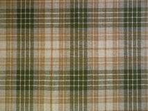 Checked fabric. Green checked fabric suitable as background royalty free stock images