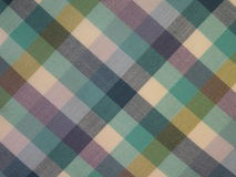 Checked fabric. Colorful checked fabric , can use as background Stock Image