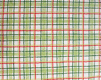 Checked Fabric. As a background stock image
