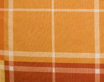Checked Fabric. As a background Royalty Free Stock Image