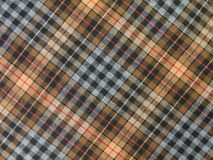 Checked fabric Stock Images
