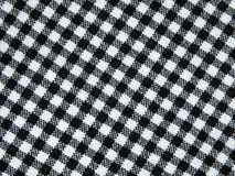 Checked fabric Stock Photo