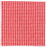 Checked fabric. Cloth textile background Royalty Free Stock Images
