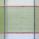 Checked fabric background close up Royalty Free Stock Image