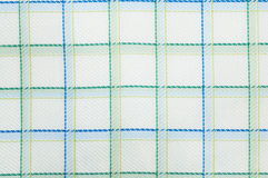 Checked fabric pattern close up Royalty Free Stock Photo