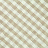 Checked  fabric pattern Stock Photography
