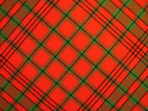 Checked fabric. Red checked fabric texture suitable as background Stock Photo