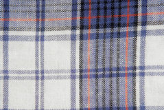 Checked fabric tecture Royalty Free Stock Photo