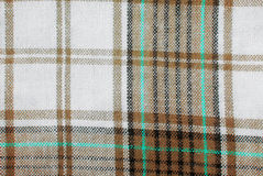 Checked fabric tecture Royalty Free Stock Photos
