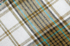 Checked fabric tecture Stock Photography