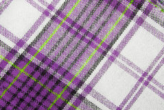 checked fabric tecture Royalty Free Stock Photography