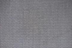 Checked fabric texture. Grey checked fabric background texture stock photo