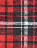 Checked fabric texture. Close up Royalty Free Stock Photos