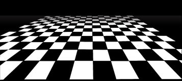 Checked Floor Royalty Free Stock Photography