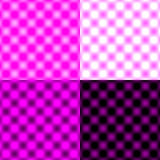 Checked Grid Circular Blur - Purple & Black & White Royalty Free Stock Photos