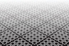 Checked lacy surface. Abstract textured geometric  Stock Photography