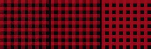 Checked lumberjack seamless pattern . vector illustration