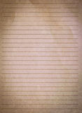 Checked note paper Royalty Free Stock Photography