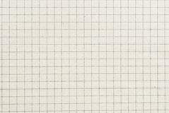 Checked old paper background or texture Royalty Free Stock Photography