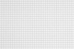 Checked paper background Stock Image