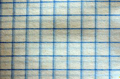 Checked paper, various colours and textures Royalty Free Stock Photo