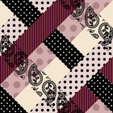 Checked patchwork background Royalty Free Stock Photo