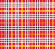 Checked pattern in red tones Stock Photos