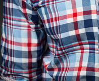 Checked pattern shirt Royalty Free Stock Photos