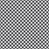 Checked plaid fabric seamless pattern Stock Photo