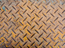 Checked plate. Texture of floor made by Checker plate stock images
