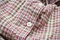 Checked shirt Royalty Free Stock Images