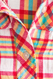 Checked shirt Stock Photography