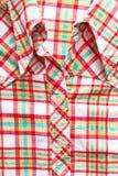 Checked shirt Stock Photos