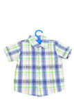 Checked shirt Stock Photo