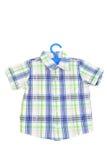 Checked shirt Stock Photo