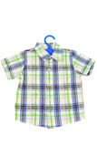 Checked shirt Stock Images