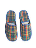 Checked slippers Stock Images