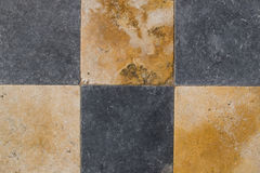 Checked stone background stock image