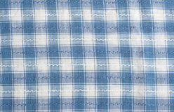 Checked tablecloth Royalty Free Stock Photo