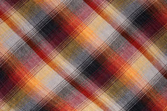 Checked textile Royalty Free Stock Photo