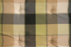 Checked textile background Stock Images