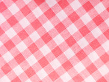 Checked Textile Stock Photography