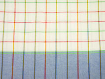 Checked and white background pattern Stock Photo