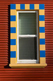 Checked Window Royalty Free Stock Photography