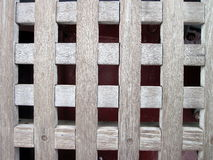 Checked wooden surface Royalty Free Stock Image